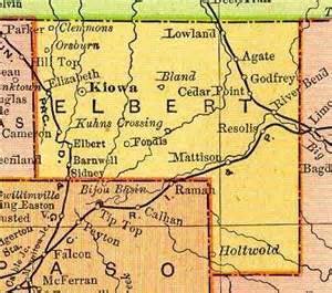 elbert county colorado map geography of elbert county colorado