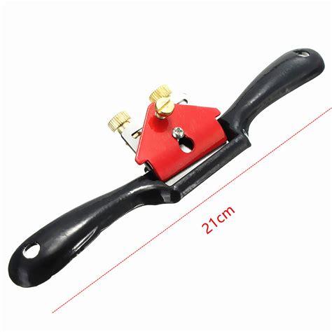 adjustable wood craft metal blade spoke shave plane