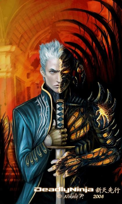 vergil sparda by deadlyninja on deviantart