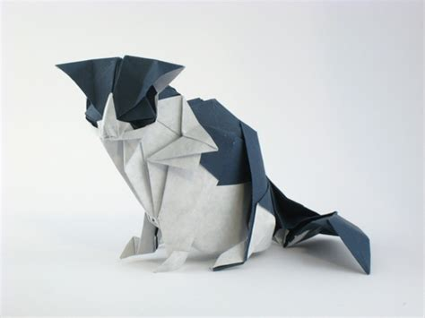 3d origami cat the gallery for gt origami 3d
