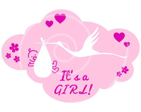 its a girl clipart clipground