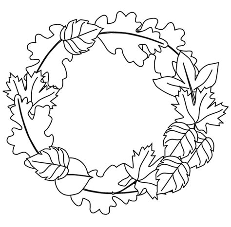 easy preschool coloring pages easy preschool fall leaves coloring pages