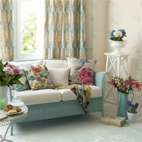 Flower Decorations For Living Room by Pretty Floral Living Room Pictures Photos And Images For
