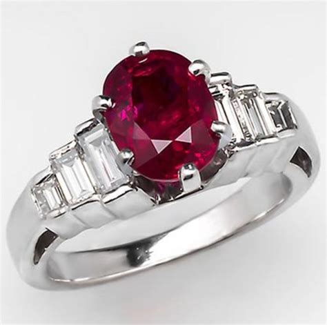 ruby engagement rings ruby engagement rings ruby engagement rings baguettes