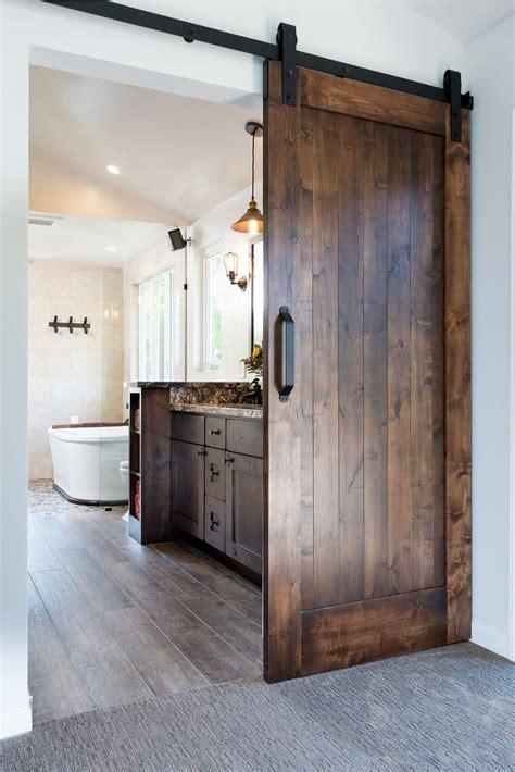 Modern Bathroom Doors by Best 25 Modern Barn Doors Ideas On Modern