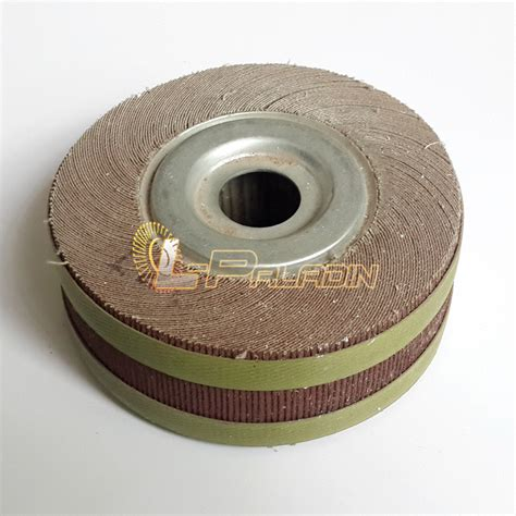 bench grinder flap wheel aliexpress com buy 6 quot 2 quot 1 quot flange abrasive flap wheel