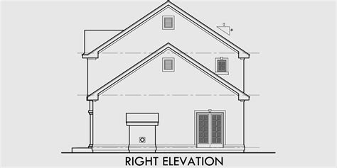 Two Story House Plans 3 Bedroom House Plans Master On 2 Story House Plans With Side Entry Garage