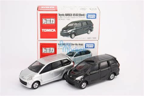 Toyota Avanza Veloz Black Tomica Takara Tomy Berkualitas takara tomy tomica toyota avanza veloz scale 1 60 asia 2x
