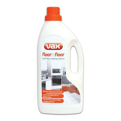 vax floor cleaning solution vax au