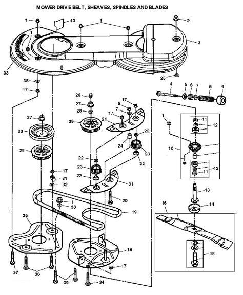 deere belt diagram deere lt170 garden tractor spare parts