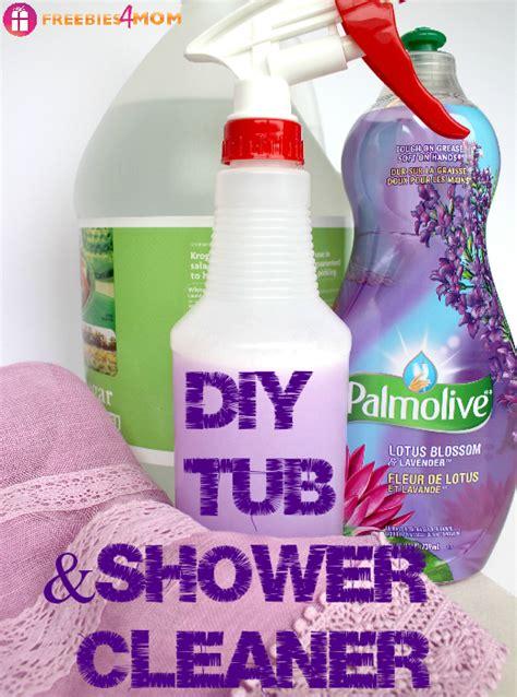 diy bathtub cleaner diy tub shower cleaner 25 ways to use palmolive