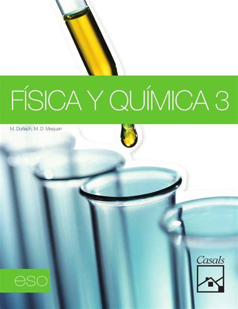 fsica y qumica 3 issuu f 237 sica y qu 237 mica 3 by editorial casals
