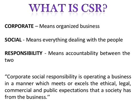 Business Ethics And Corporate Social Responsibility Mba Notes by Corporate Social Responsibility Empowerment