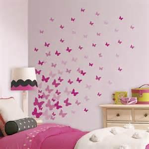 pink flutter butterflies wall decals rosenberryrooms com