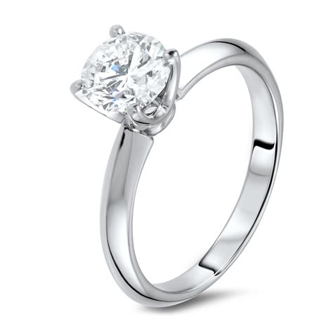 Ring Ring ring in 18k white gold diamondland