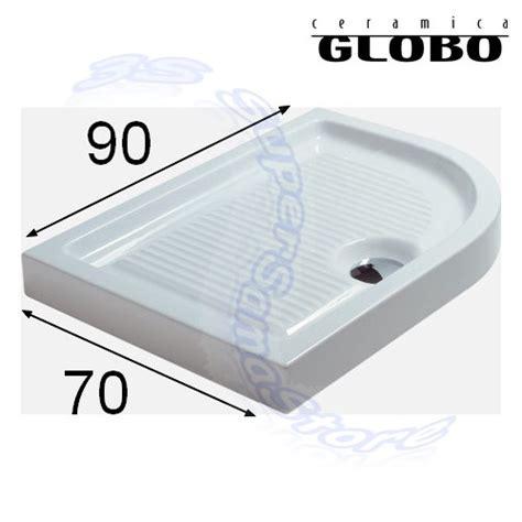 piatto doccia 70x90 3s piatto doccia curvo dx plano 70 x 90 ceramica globo ebay