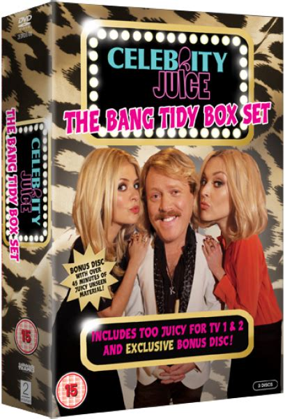 celebrity juice new series 18 celebrity juice the bang tidy box set includes bonus
