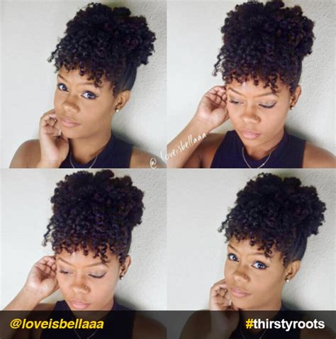 Updo Hairstyles For Black With Medium Hair by 13 Hair Updo Hairstyles You Can Create