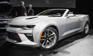 new cars information 2016 chevrolet camaro convertible photos and info news