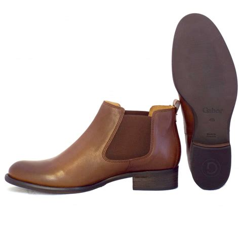brown leather ankle boots gabor boots zodiac brown leather ankle boots mozimo