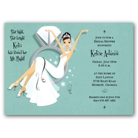 Swinging Ring Brunette Bridal S Er Invitations Paperstyle
