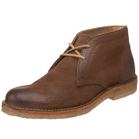 brown chukka boots frye mens hudson chukka boot in brown for brown