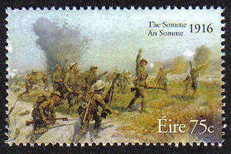 Commem. 2000 08   Ireland 2006 Battle Of The Somme Mnh Stamp