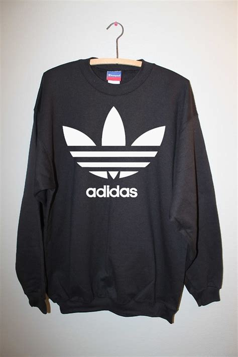 Sweater Adidas Original Vintage Adidas Sweatshirt