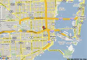map of rodeway inn miami airport miami