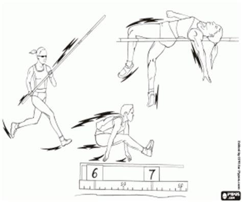 Sport Der Karimun Estilo Belakang 3 Cm ausmalbilder olympischen sport leichtathletik gymnastik mehrkf malvorlagen