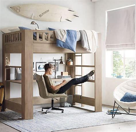 sleep and study loft bed sleep cotton bedding and pillow covers on pinterest