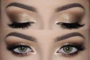 Brown Wedding Dresses Soft Smokey Eyes Amp Gold Glitter Make Up Tutorial Melissa Samways Youtube