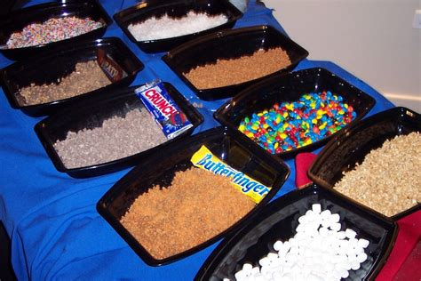 Chocolate Bar Toppings by Herbkoe Foods And Entertainment Sweet Treats