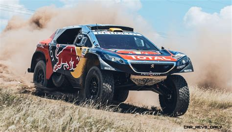 Rally Dakar 2016 Peugeot Dkr16 Bull 7