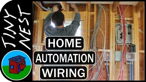 diy wiring a house diy smart tiny house control wiring ep 46 youtube