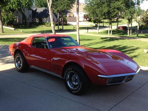 1970 chevrolet corvette 2 door coupe 154317