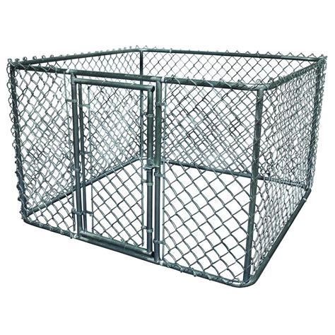 k 9 kwik kennel 6 ft x 6 ft x 4 ft galvanized steel