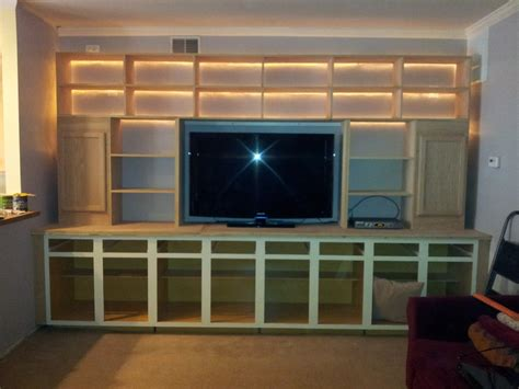 diy wall unit entertainment center wall units how to build a built in entertainment center