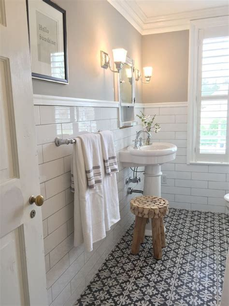 subway tile bathroom floor ideas 25 best ideas about subway tile bathrooms on