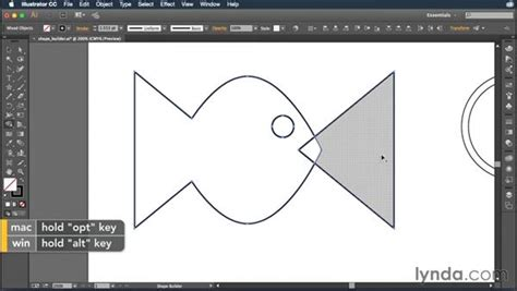 illustrator pattern making tool creating artwork with the shape builder tool