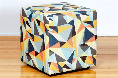 ottomans perth cube custom retro fabric ottomans custom fabric sizes