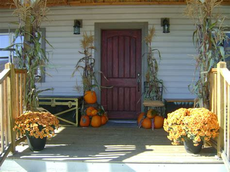 decorate front porch for fall porch fall decor ideas outdoortheme