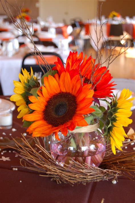 Fall Wedding Flower Centerpieces by Wedding By Designs Autumn Wedding Centerpieces