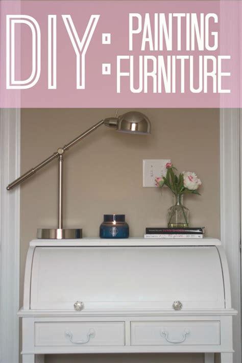 Diy Painted Desk The Monogrammed Diy Furniture Painting