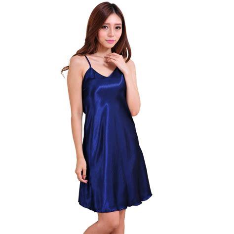 Dress Sleepwear Satin chic nightwear nightgown babydoll
