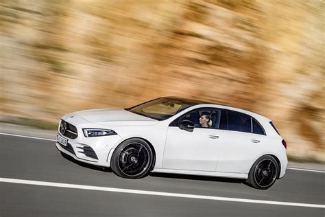 mercedes a class is the use of the company s new