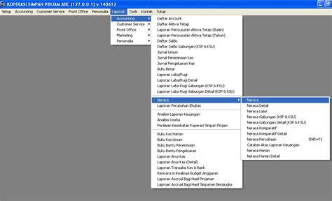 membuat neraca awal koperasi tutorial membuat neraca pada software ksp gratis