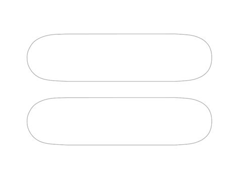skateboard template a skateboard template to use with
