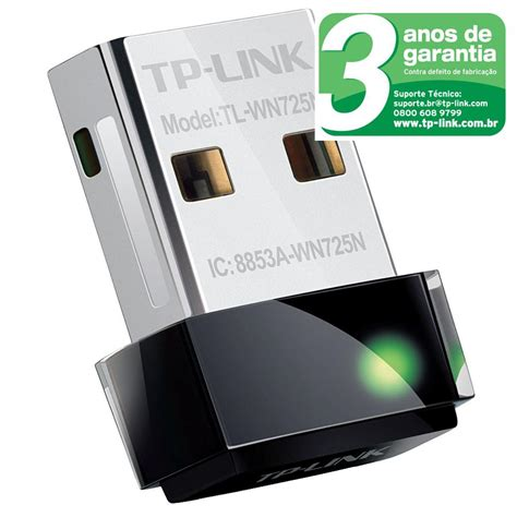 Tp Link Usb Wifi Tl Wn725 Tp Link 725 Usb Wireless Adapter nano adaptador tp link wireless usb tl wn725n 150mbps adaptador de rede no casasbahia br