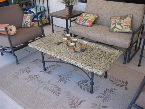 Granite Patio Table Granite Patio Table Homecrest Aluminum Adjustable Patio Bistro Table With Redroofinnmelvindale